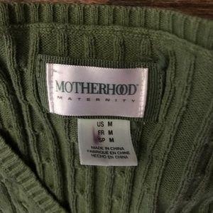 Motherhood Maternity Sweaters - Motherhood Maternity green sweater